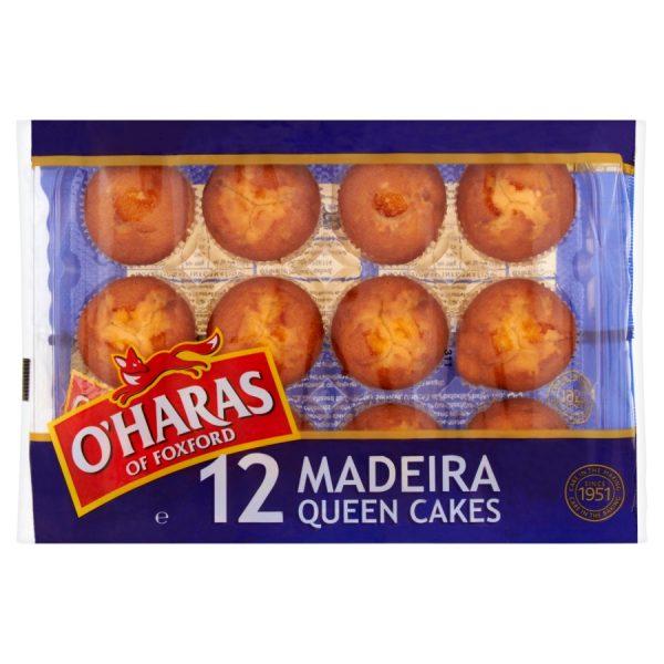 O'Haras of Foxford 12 Madeira Queen Cakes 330g