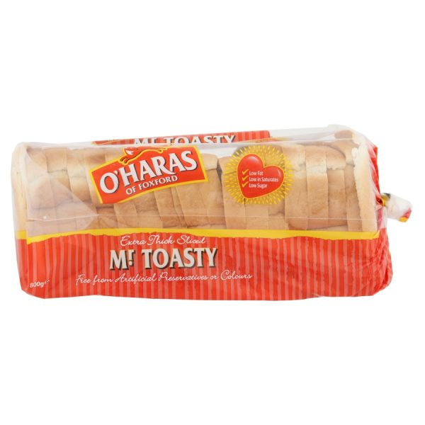 O'Haras of Foxford Mr Toasty Extra Thick Sliced 800g