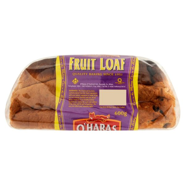 O'Haras of Foxford Fruit Loaf 600g
