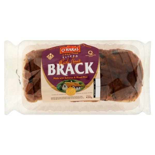 O'Haras of Foxford Sliced Rich Fruit Brack 430g