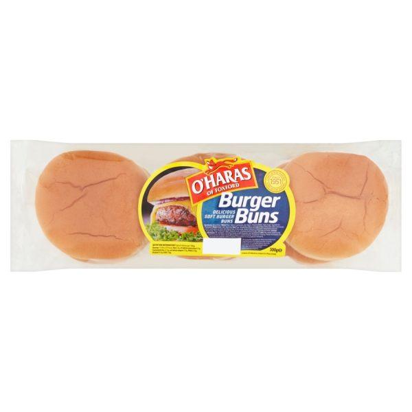 O'Haras of Foxford Burger Buns 300g