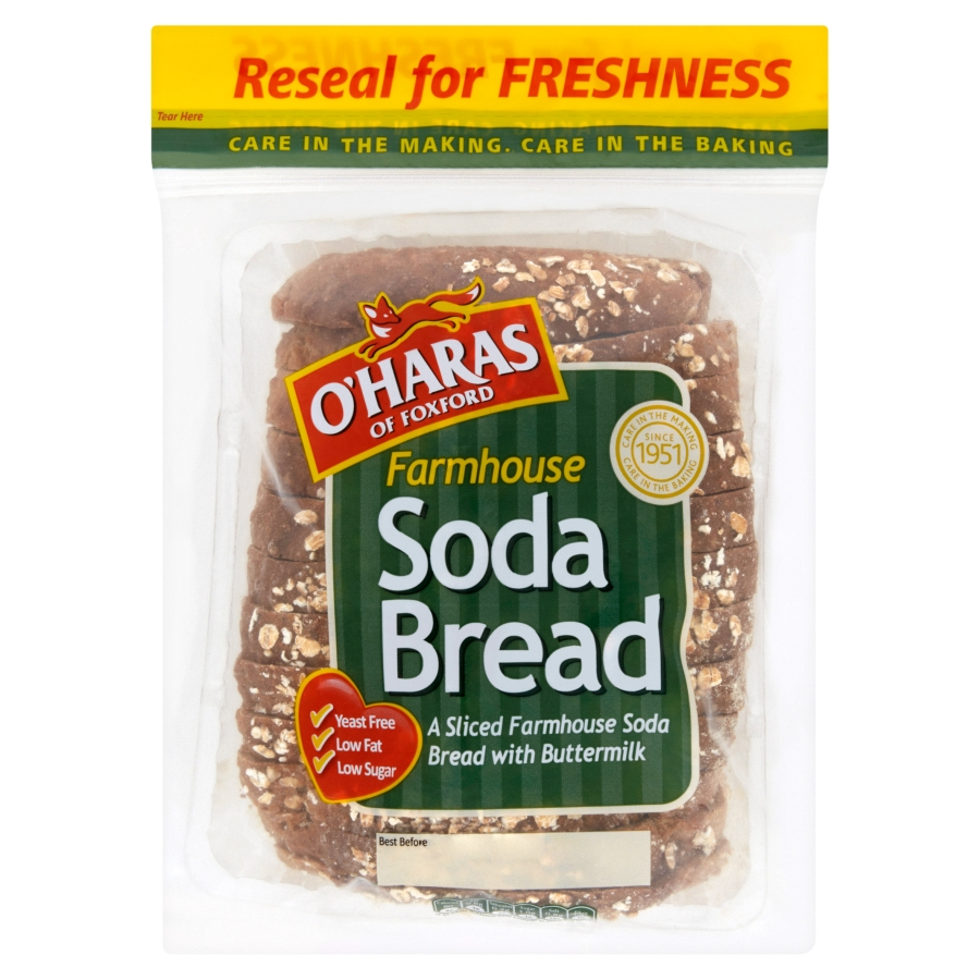 O'Haras of Foxford Farmhouse Soda Bread 400g