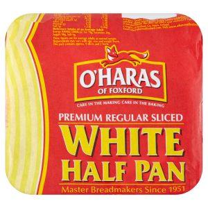 Premium Regular Sliced White Half Pan 400g